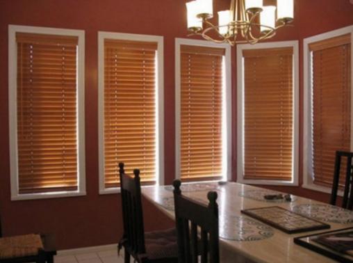 жалюзи для деревянных окон