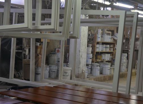 отделка деревянных окон