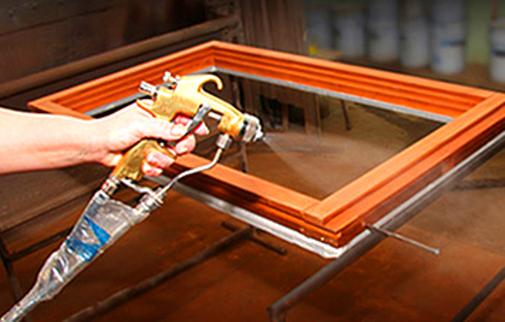 лакокрасочное покрытие деревянных окон