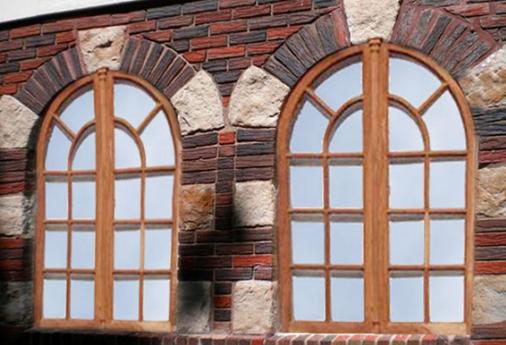 окна с аркой