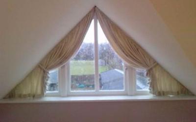 окна треугольной формы