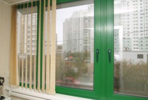пластиковые окна цвета