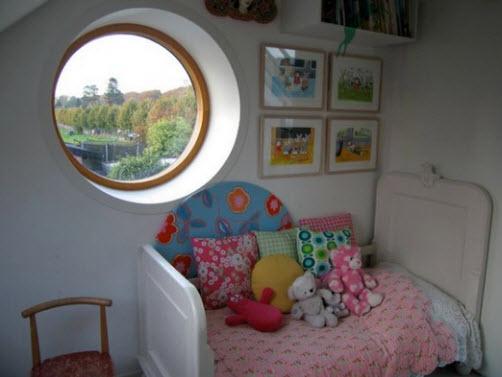 круглые окна деревянные пластиковые